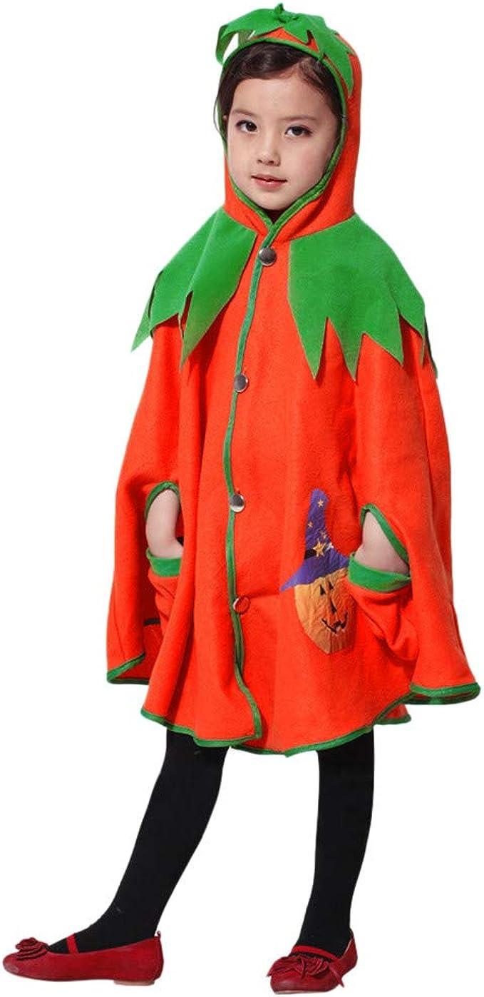 FELZ Halloween Disfraz Chaqueta con Capucha de Calabaza de ...
