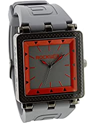 Rockwell Men's Automatic Leather Casual Watch, Color:Grey (Model: CF117)
