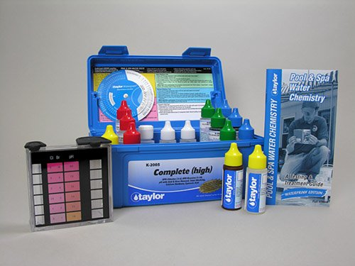 Taylor Technologies K-2005 Pool Test Kit, Complete Kit