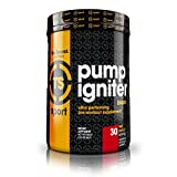 Top Secret Nutrition Pump Igniter Black Pre-workout Supplement with Beta-alanine, L-Citrulline, and Hydromax, Net Wt. 0.99 lbs. (30 servings) Fruit Punch