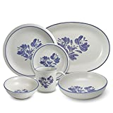 Pfaltzgraff Yorktowne 34 Piece Dinnerware Set with Serveware, Service for 8