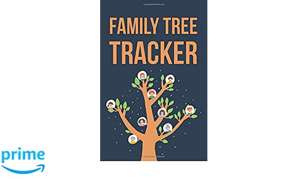 family tree tracker a 6 x 9 lined journal notebook kc felong
