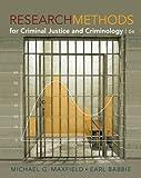Bundle: Research Methods for Criminal Justice and Criminology, 6th + WebTutorTM ToolBox for Blackboard Printed Access Card