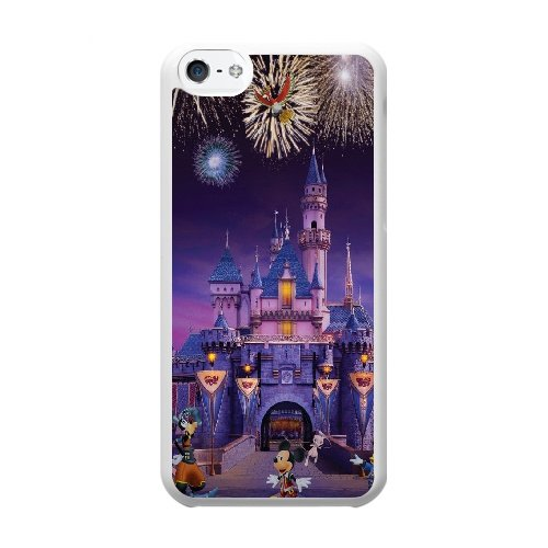 Coque,Coque iphone 5C Case Coque, Ryan Gosling Disneyland Cats Cover For Coque iphone 5C Cell Phone Case Cover blanc