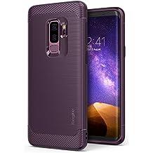 Ringke Funda Galaxy S9 Plus, [Onyx] [Gran Resistencia] Protectora de TPU Duradera, Antideslizante y Flexible para Samsung Galaxy S9 Plus 2018 Case Cover – Lilac Purple
