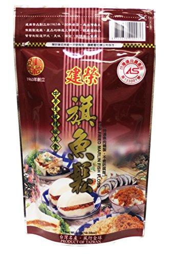 建榮旗魚鬆 Chien Jung Stir Fried Marlin Fish Floss Sung, 10.58oz