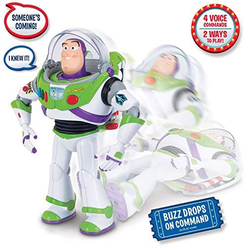 (Toy Story Disney Pixar 4 Buzz Lightyear with Interactive Drop-Down)