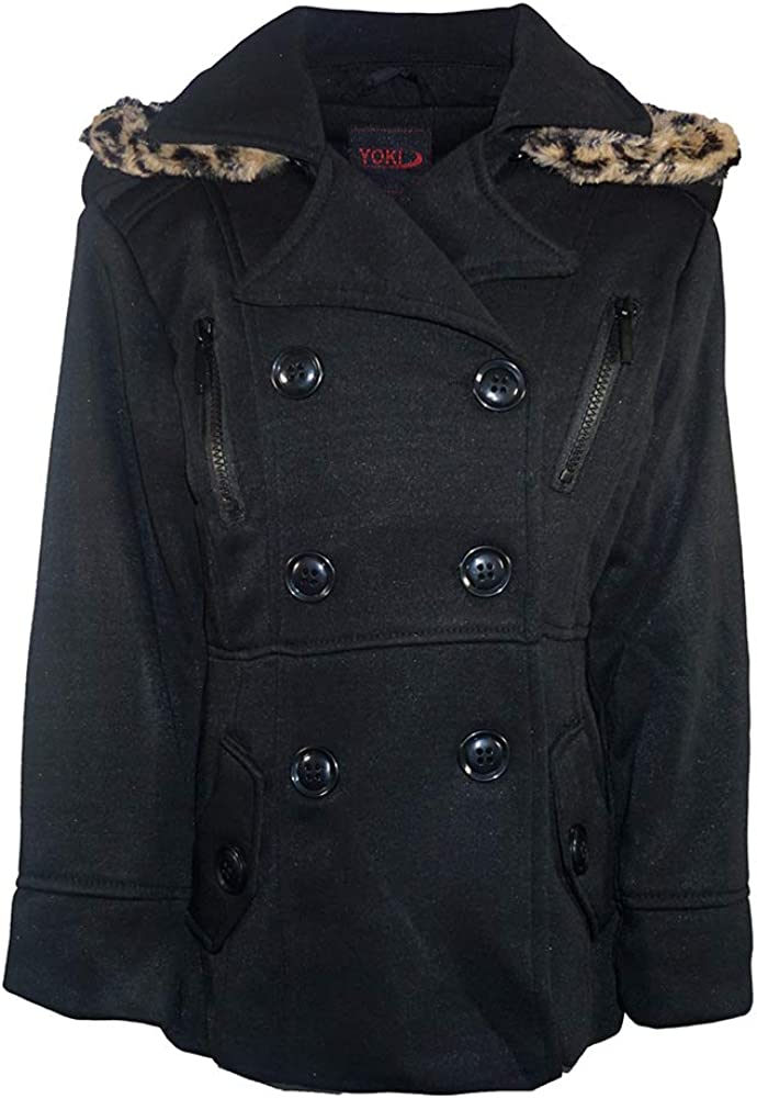 Yoki Winter Coats for Girls Warm Hooded Sweatsuit Fits Comfortably to Perfect for Kids /& Teen Girls