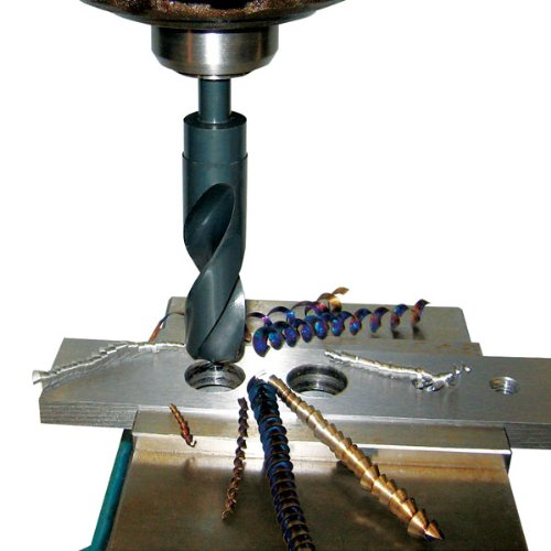 TTC 1-15//32 x 1//2 Shank Cobalt Silver /& Deming Drill