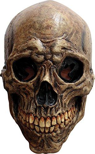 (Ghoulish Men's Horror Ancient Skull Latex Mask Halloween Costume)