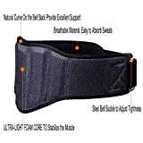 Weightlifting-Belt-iiSPORT-8-Inch-Back-Support-Powerlifting-Belt-Strap-for-Weight-Lifting-Squats-Lunges-Deadlift-Thrusters-Heavy-Duty-Gym-Belt-for-Men-and-Women