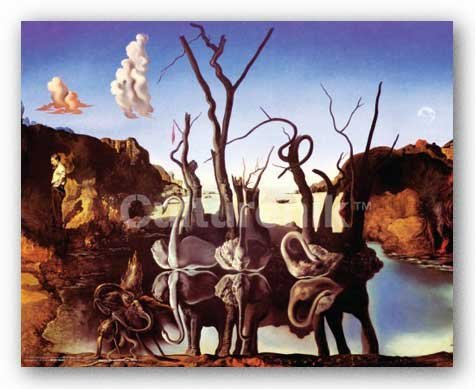 Swans Reflecting Elephants (Swans Reflecting Elephants by Salvador Dali 16