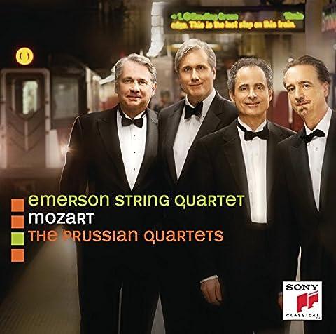 Mozart: String Quartets Nos. 21 - 23 ('Prussian'), K. 575, 589, 590 (Sony Emerson)