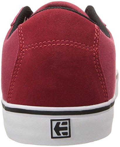 Herren Skateschuh Etnies Scam Vulc Skateschuhe red/white/black
