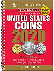 2020 - Red Book 73rd Edition - Spiral Edition - US Coin Values! - - -
