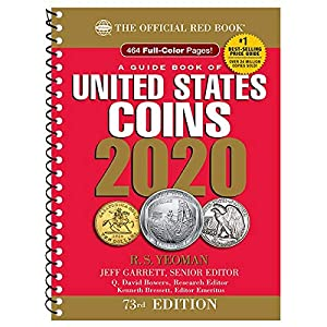 2020 – Red Book 73rd Edition – Spiral Edition – US Coin Values! – – –
