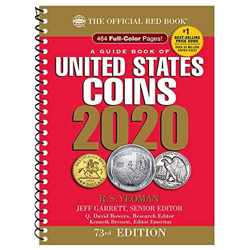 2020 - Red Book 73rd Edition - Spiral Edition - US Coin Values! - - - Civil War Gold Coins