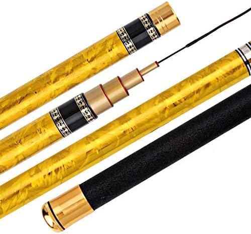 釣り竿 調節可能な伸縮式調節可能高炭素繊維 快適な眠り ロッドポケット付き (3.6~8.1m) 7.2 juiy0326