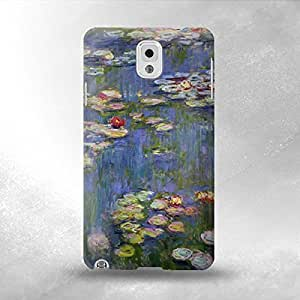 Claude Monet Water Lilies - Samsung Galaxy Note 3 Back Cover Case - Full Wrap Design