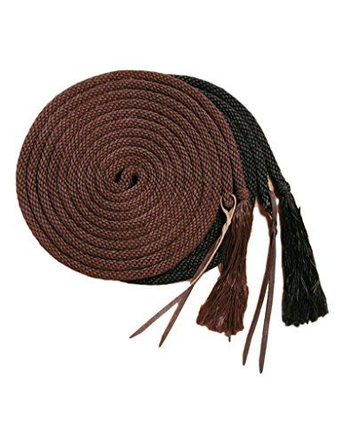 - Tough 1 Royal King Nylon Rope Mecate, Brown