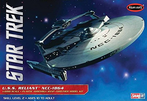 Polar Lights 1:1000 Scale Star Trek USS Reliant Model Kit