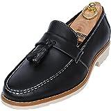Angel Cola Men's Comfortable Tassel Slip-On Loafer