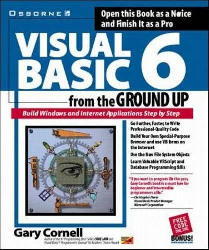 Visual Basic 6 from the Ground Up by McGraw-Hill Education