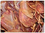 Monster Smoked Pig Ears. XL Size (100-Pack)