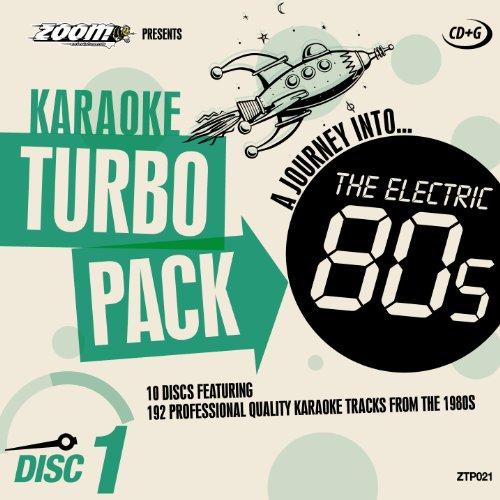 Zoom Karaoke CD+G Turbo Pack - 1980s/Eighties - 10 Discs [Card Wallets] ()