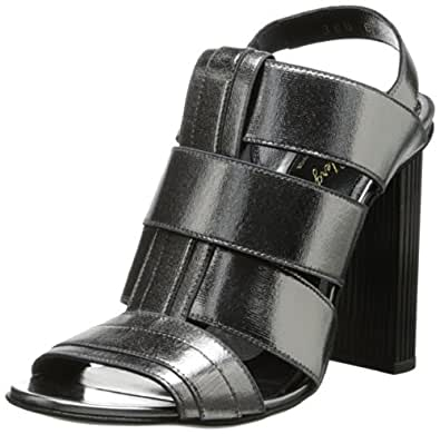 Robert Clergerie Women's Divana Dress Sandal,Grey,38.5 EU/8 B US