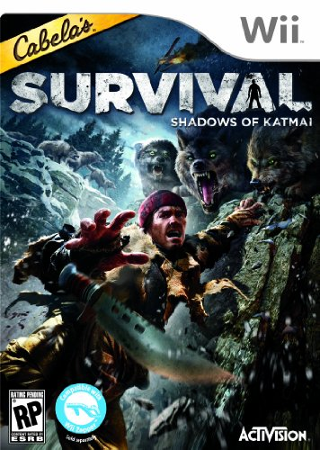 Cabelas Survival: Shadows of Katmai - Nintendo Wii for sale  Delivered anywhere in USA