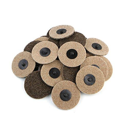 "3"" Coar Grit Roloc Cleaning Roll Lock Sanding Disc 25pcs"