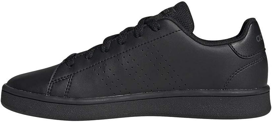 Adidas Advantage Tennisschuh für Kinder Schwarz Schwarz Grau
