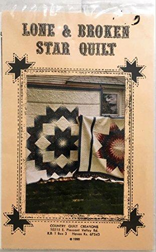 Lone & Broken Star Quilt Pattern (Lone Star Quilt Pattern)