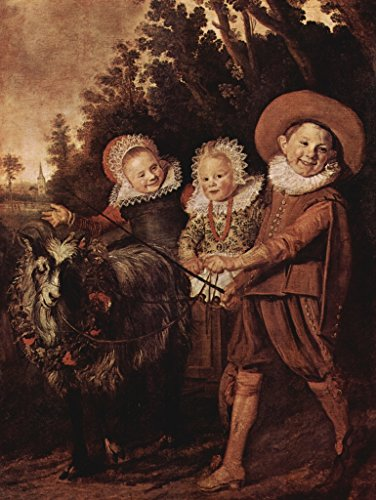 Lais Jigsaw Frans Hals - Three Kids with Goats and Wagons 2000 Pieces