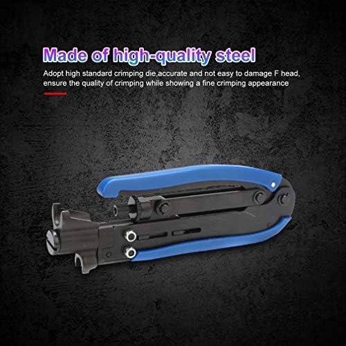 SNOWINSPRING 同軸ケーブルクリンパ圧縮ツールワイヤークリンパプライヤーツール RG59 RG6 RG11ケーブルF同軸コネクタケーブル用