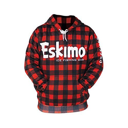 Eskimo Buffalo Plaid Hoodie 3XL 24396 Buffalo Plaid Hoodie Sweatshirt, ()