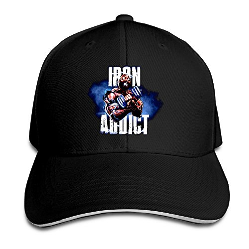 ct-fletcher-iron-addict-vol-ii-sandwich-bill-cap-snapback-hat-summer