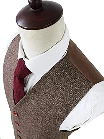 Premium Solid Classic Vintage Tweed Herringbone Wool Blend Tailored Men Suit Blazer Vest Pant