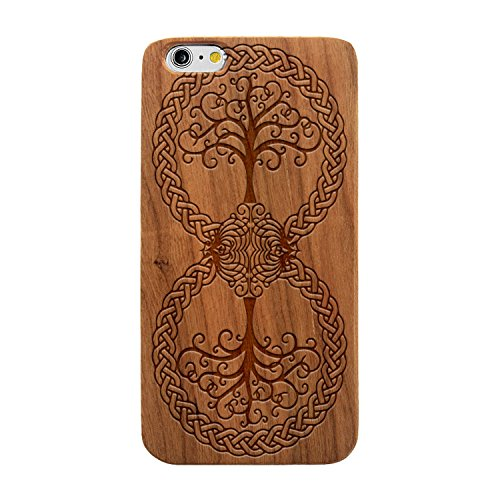 Laser Engraved Wood Case iPhone product image