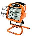 Woods L-33 500-Watt Halogen Portable Worklight with Switch, Red