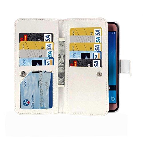 Fashion & personality Para Samsung Galaxy J7 (2016) / J710 patrón de patrón horizontal Flip caja de cuero con 9 ranuras para tarjetas y cartera y titular ( SKU : SAS0116E ) SAS0116G