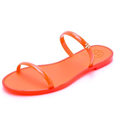 565da5a54 Tory Burch Two-Band Jelly Slide Sandals (6