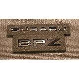 SUBARU BRZ BLACK TRUNK EMBLEMS - 2013+ BRZ (Gloss Black)