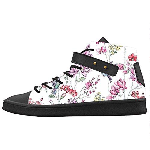 Custom Hummingbird Womens Canvas shoes Le scarpe le scarpe le scarpe.