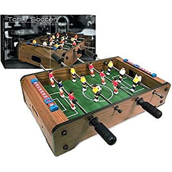 Amazon Com 20 Quot Mini Foosball Tabletop Set Toys Amp Games