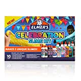 Elmer'S Celebration Slime Kit | Slime Supplies Include Assorted Magical Liquid Slime Activators and Assorted Liquid Glues, 10 Count: more info