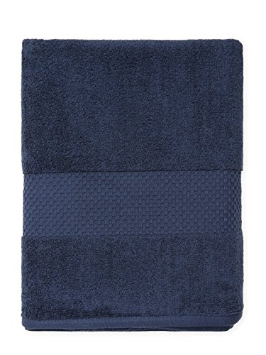 Price comparison product image Hugo Boss Bath and Hand Cotton Towel Set Classic Collection (navy)
