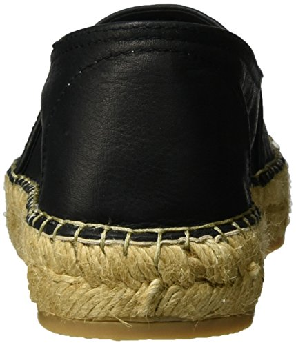 Macarena Velvet, Espadrilles Femme Beige (Sand/Negro)