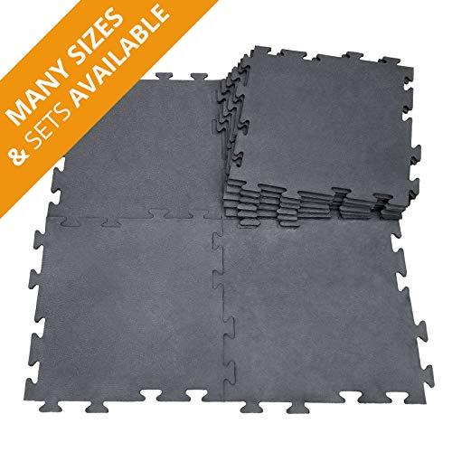 Ergocell Rubber Horse Stall Mat - Rubber Interlocking Floor Tiles, Horse Mats & Dog Kennel Flooring | 3/4